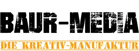 Baur-Media Die Kreativ-Manufaktur-Logo