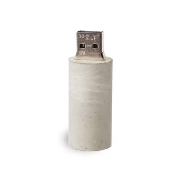 USB-Stick Major Round Beton
